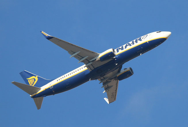 "B 737-8AS (W)  "" EI-EFZ ""  Ryanair -2"