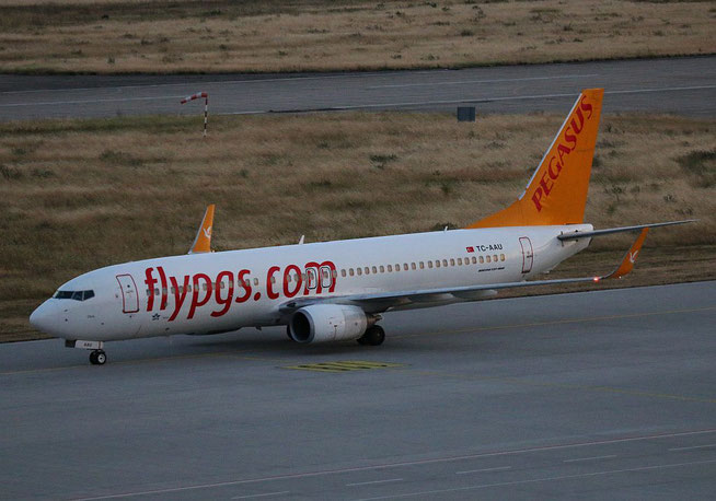 "B 737-82R/W "" TC-AAU "" Pegasus Airlines -1"