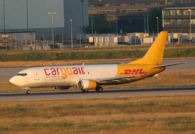 """B 737-4YO  """" LZ-CGT """"  Cargo Air -3"""