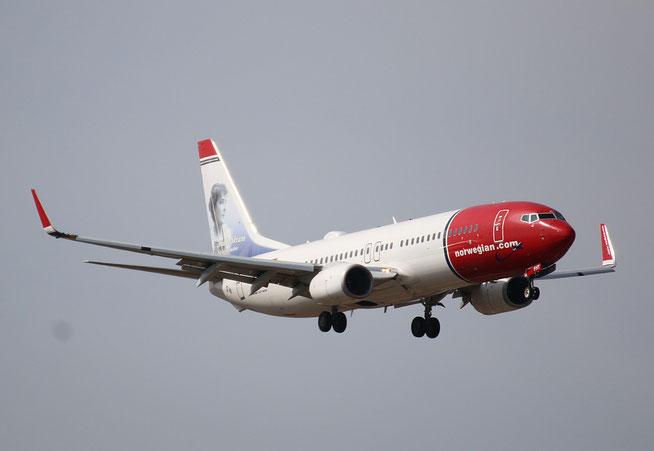 """B 737-8JP  """" EI-FHT """"  Norwegian -1"""