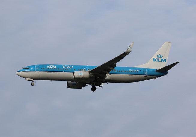 "B 737-8K2(W)  "" PH-BCB ""  KLM -2"