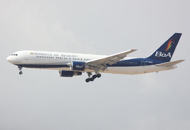 "B 767-33AER "" CP-2881 ""  Bolviana de Aviacion -1"