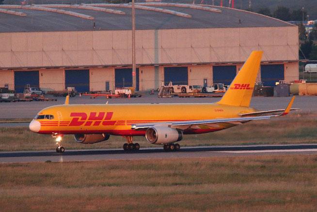 """B 757-223PCF(WL) """" G-DHKN """" DHL Air -2"""