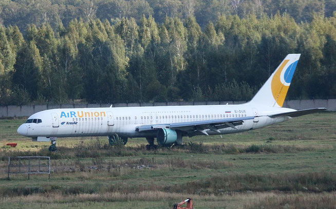 """B 757-256  """" EI-DUE """"  KrasAir -1"""