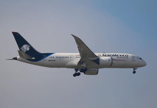 "B 787-8  "" N965AM "" Aeromexico -2"