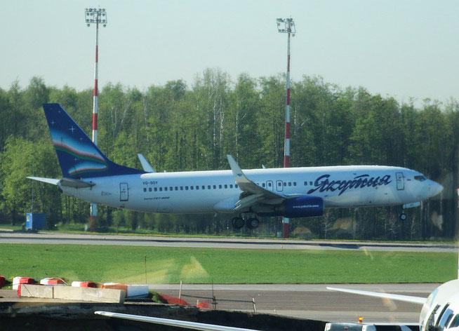 """B 737-85F/W  """" VQ-BOY """"  Jakutia Airlines -1"""