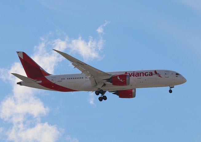 """B 787-8  """" N781AV """"  Avianca -1"""
