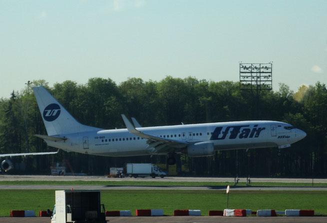 """B 737-8GU(WL) """" VQ-BQS """" UTair -2"""