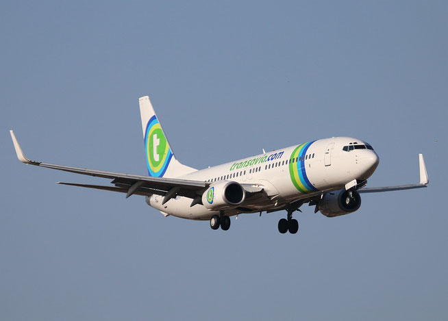 """B 737-85H/W  """" F-GZHV """" Transavia France -1"""