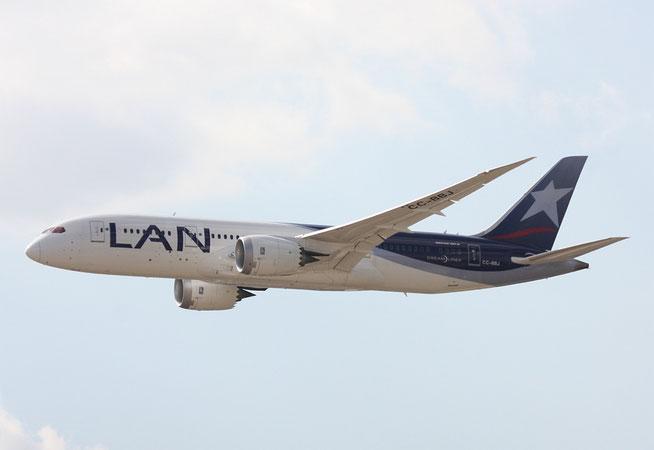 """B 787-8  """" CC-BBJ """"  LAN Airlines -3"""