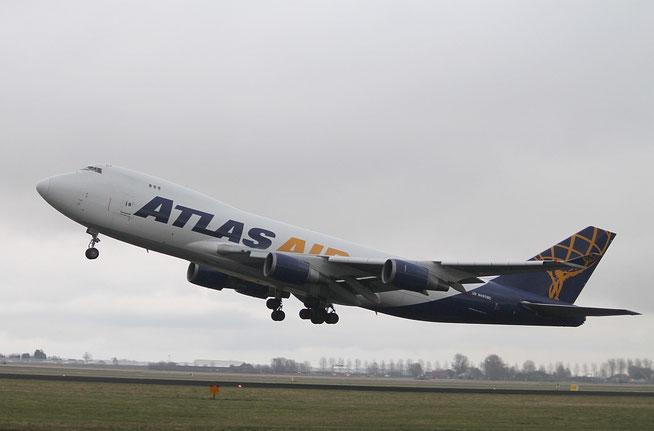 "B 747-47UF  "" N497MC ""  Atlas Air -1"