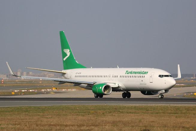 """B 737-82K/WL  """" EZ-A019 """" Turkmenistan Airlines -1"""