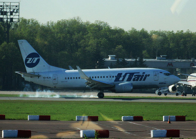 """B 737-524/W """" VQ-BJU """" UTair -2"""