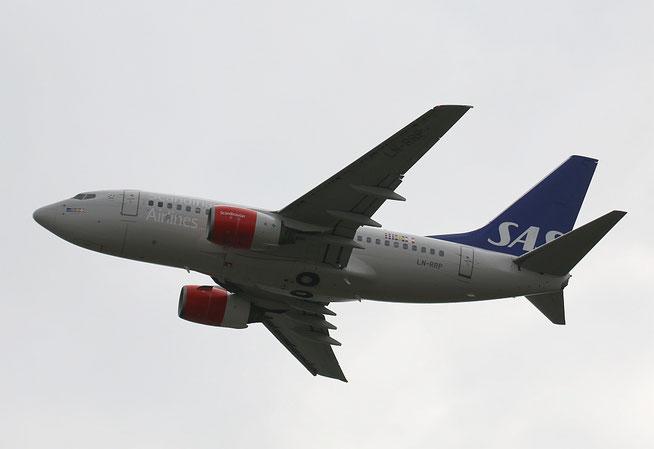 """B 737-683 """" LN-RRP """"  SAS -1"""