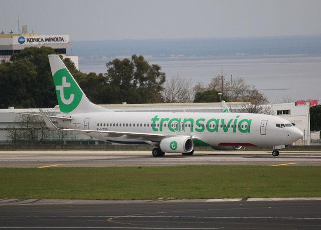 "B 737-8K2/W  "" F-HTVA "" Transavia France -1"