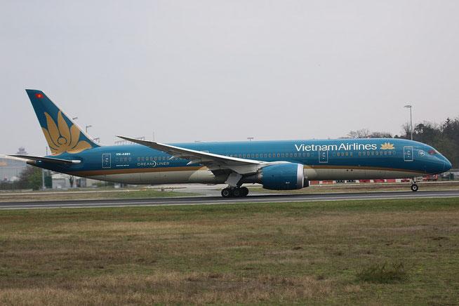 """B 787-9 """" VN-A861"""" Vietnam Airlines -2"""
