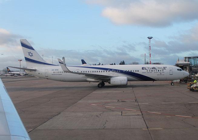 """B 737-958(ER)(WL) """" 4X-EHC """" El Al Israel Airlines -1"""