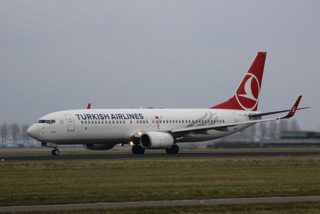 """B 737-8F2/W """" TC-JFD """" Turkish Airlines -1"""