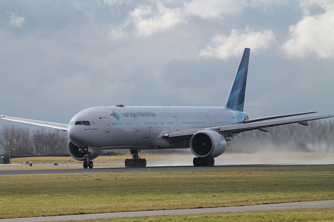 "B 777-3U3ER "" PK-GIF ""  Garuda Indonesia -1"