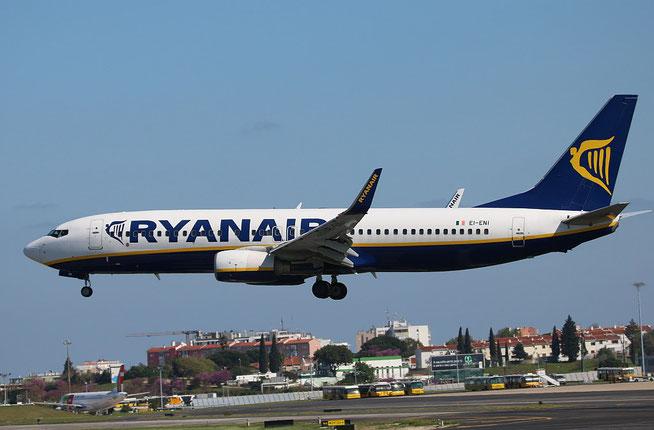 """B 737-8AS (W)  """" EI-ENI """"  Ryanair -1"""