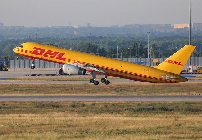 """B 757-223PCF(WL) """" G-DHKO """" DHL Air -2"""