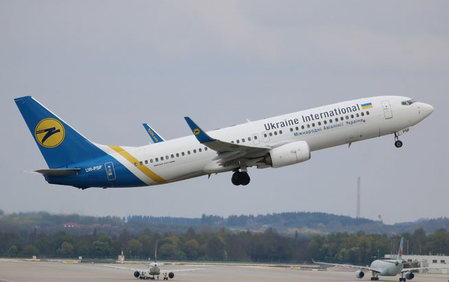 "B 737-84R/W "" UR-PSF "" Ukraine International Airlines -2"