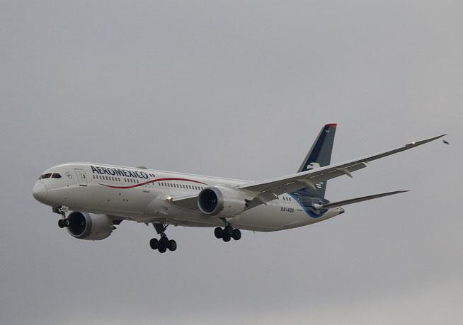 "B 787-9  "" XA-ADD ""   Aeromexico -1"