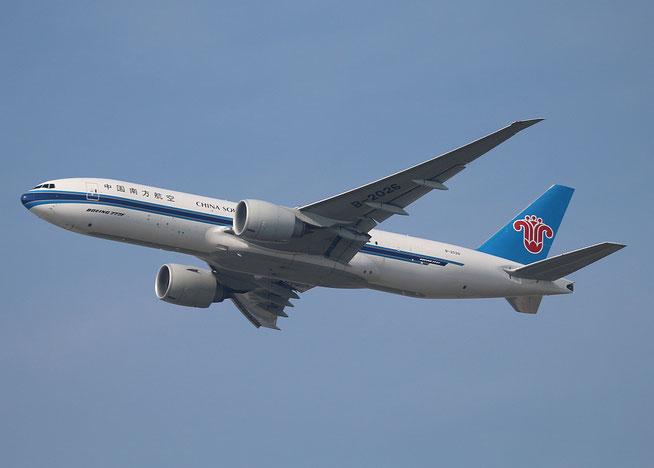 """B 777-F1B """" B-2026 """" China Southern Cargo -2"""