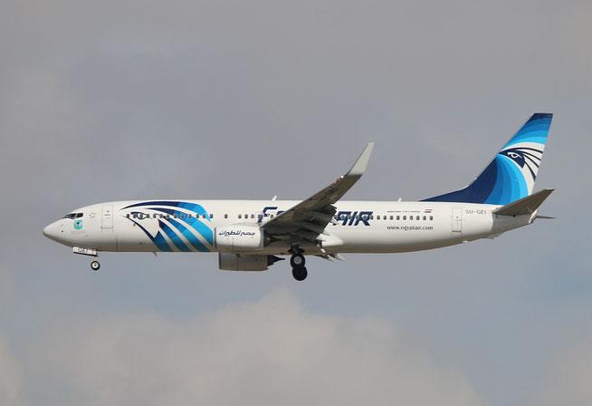"B 737-866/W "" SU-GEI "" Egyptair -1"