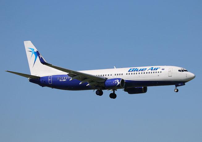 "B 737-85F/W  "" YR-BMC ""   Blue Air -2"