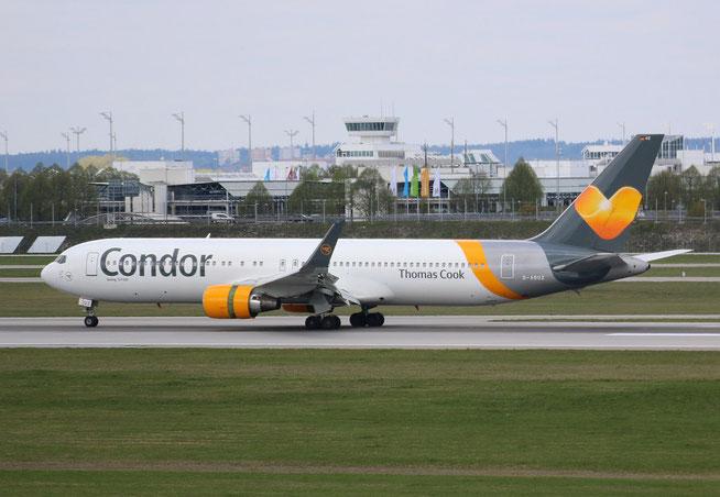 "B 767-330ER  "" D-ABUZ "" Condor -2"