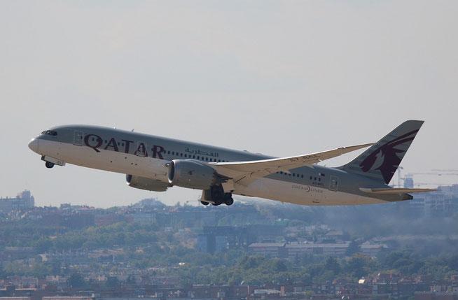 "B 787-8  "" A7-BCL "" Qatar Airways -1"