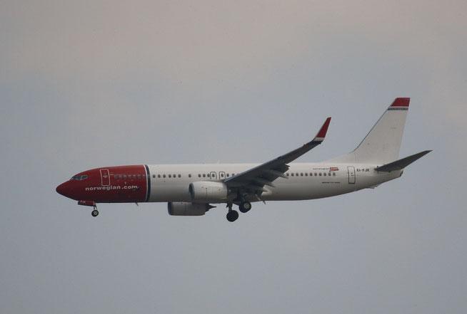 """B 737-8JP  """" EI-FJK """"  Norwegian -1"""
