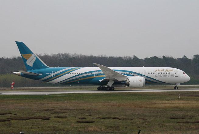 """B -787-9 """" A4O-SC """"  Oman Air -2"""