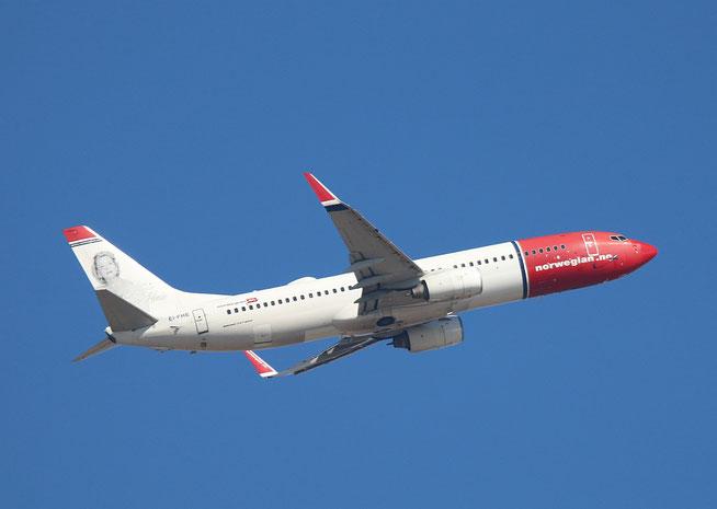 "B 737-8Q8  "" EI-FHE ""  Norwegian -1"