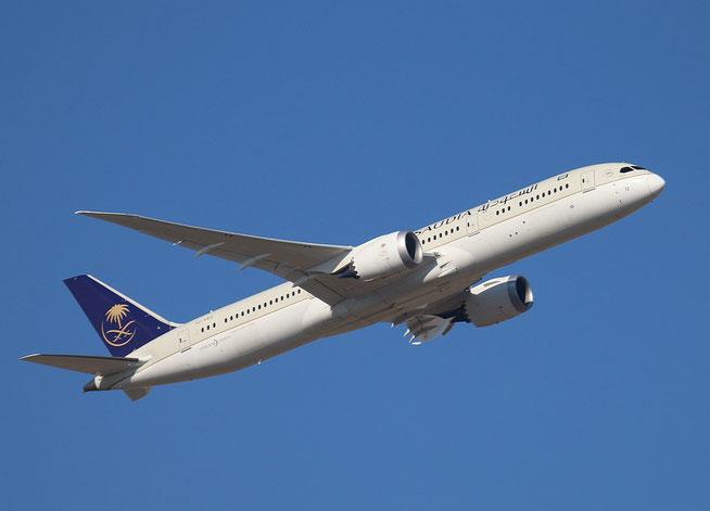 "B 787-9  "" HZ-AR12 ""  Saudi Arabian Airlines -2"