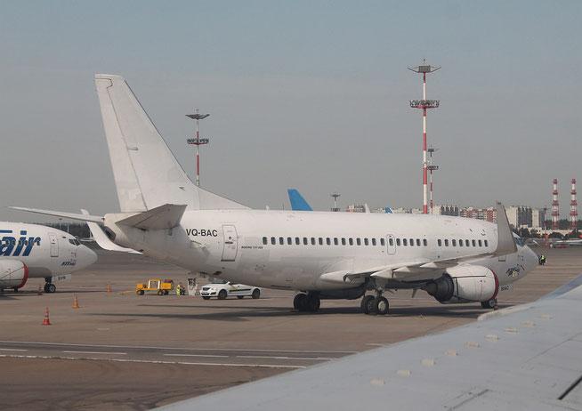 "B 737-524(W)  ""  VQ-BAC  ""  UTAir -1"