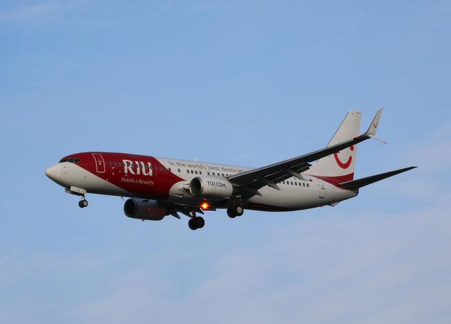 """B 737-8K5/W  """" D-ATUZ """" TUIfly -2"""