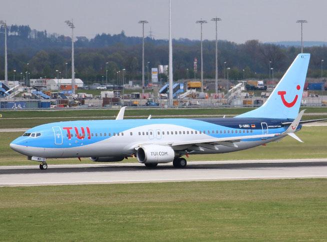 """B 737-86J/W """" D-ABKI """"  TUIfly"""