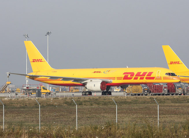 "B 757-236F "" G-BMRB "" European Air Transport / DHL -2"