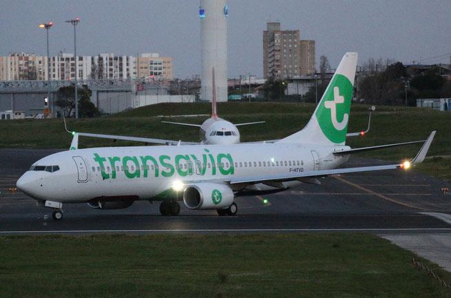 "B 737-8K2/WL  "" F-HTVD "" Transavia France -3"