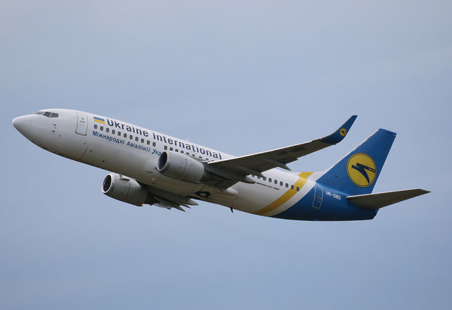 "B 737-36Q/W "" UR-GBD "" Ukraine International Airlines -1"