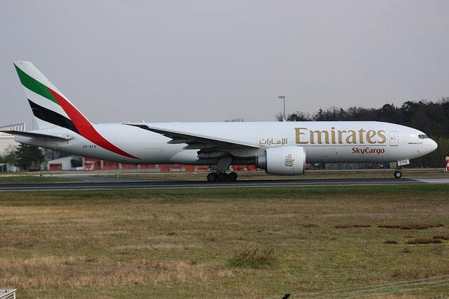 """B 777-F1H """" A6-EFD """" Emirates SkyCargo -2"""