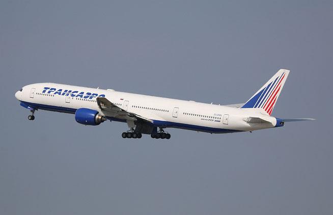 """B 777-312 """" EI-UNN """" Transaero -1"""