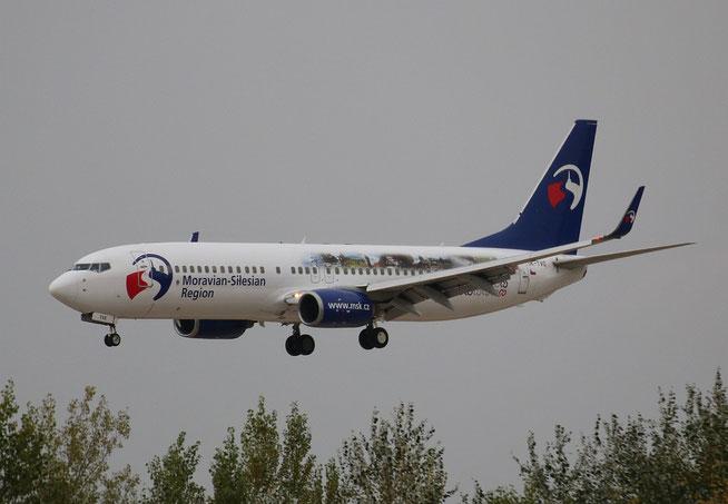 "B 737-8CX "" OK-TVO "" Travel Service -1"
