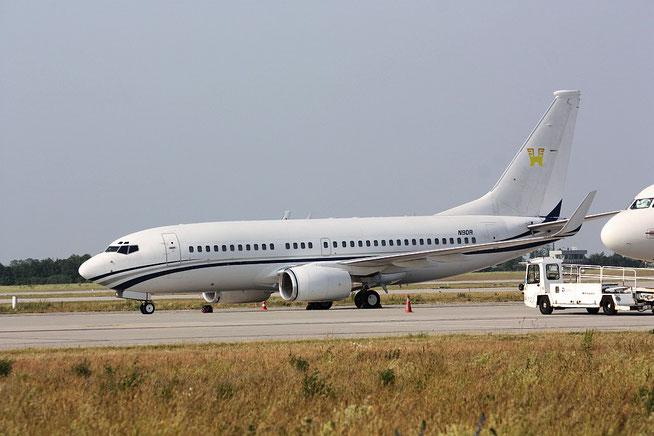 """B 737-EL/W BBJ  """" N90R """" Swiflite Aircraft Corp -1"""