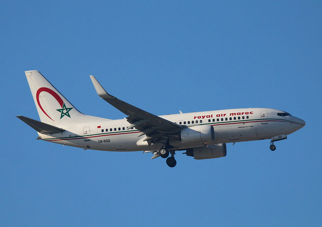 "B 737-7B6/W  "" CN-ROD "" Royal Air Maroc -1"