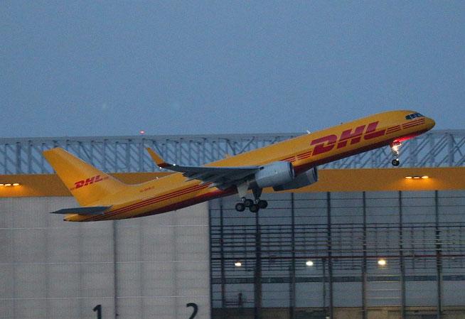"""B 757-256(PCF) """" G-DHKC """" DHL Air -1"""