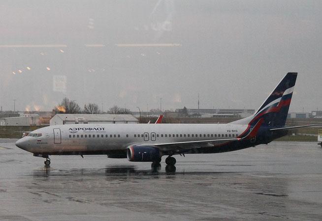 """B 737-8LJ/W  """" VQ-BVO """"  Aeroflot -1"""