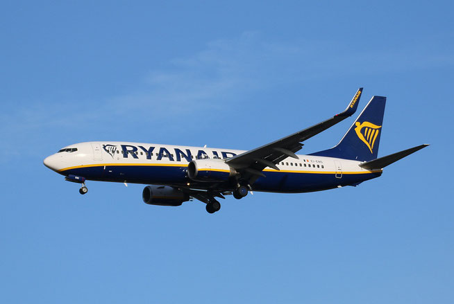 """B 737-8AS (W)  """" EI-ENS """"  Ryanair -1"""